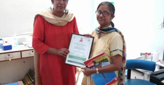 फोको प्रशिक्षण – डॉ. गौरी रोपाम श्रीवास्तव