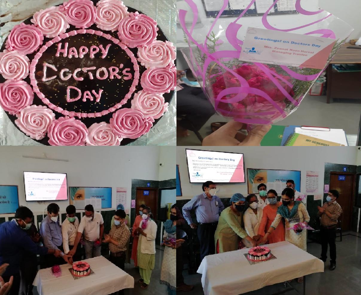 नून अस्पताल में मनाया गया डॉक्टर दिवस!