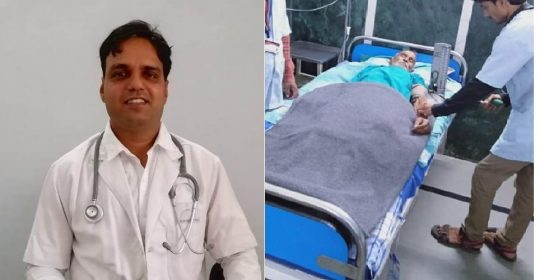 Dr Ankur Jhawar, Performed Prostrate Removal Surgery Laparoscopically