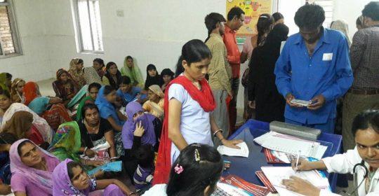 Free consultation camp at Pirawa, CHC.