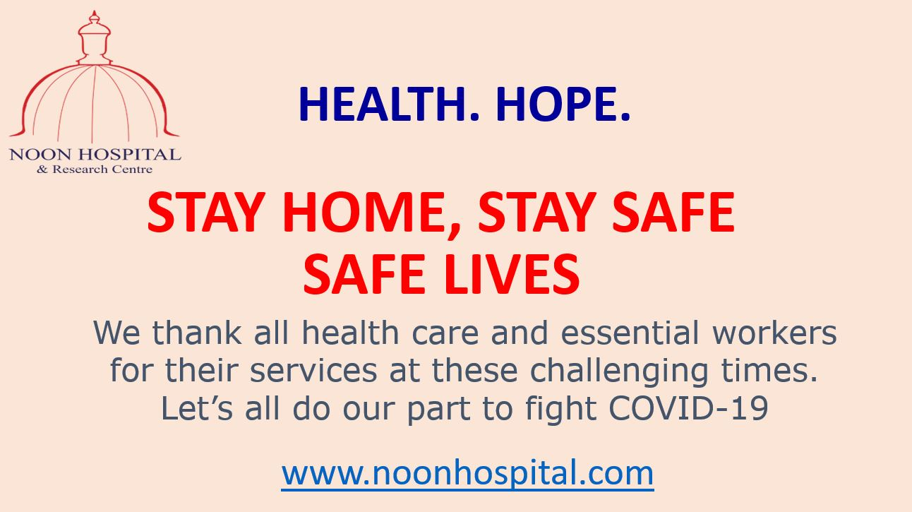 #StayHomeStaySafe COVID-19
