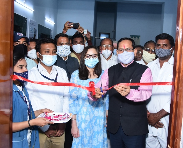 COVID Vaccination Centre's (CVCs) at Noon Hospital Was Inaugurated Today