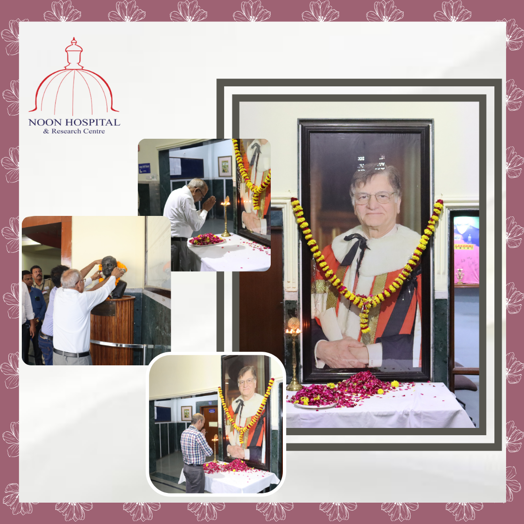 Noon Hospital Doctors and Staff paid homage on 6th Death Anniversary of Lord GK Noon